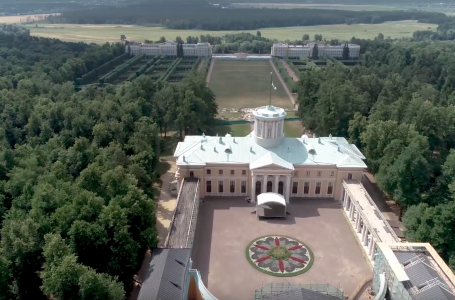 Реставрация усадьбы Архангельское
