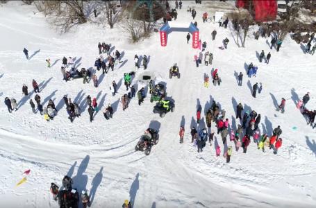 Соревнования на квадроциклах в Люберцах
